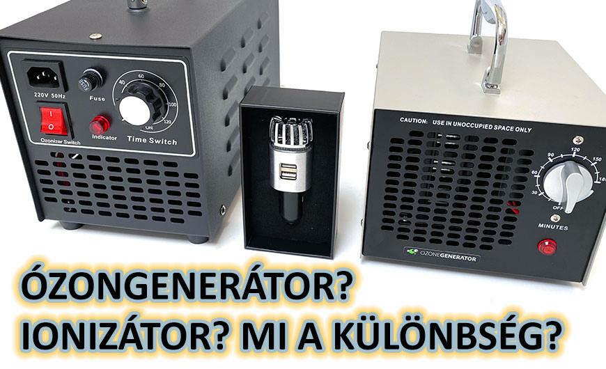 Ózongenerátor, ionizátor ,légtisztító