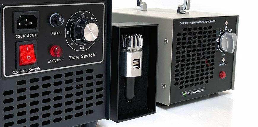 Ózongenerátor és  ionizátoros légtisztító