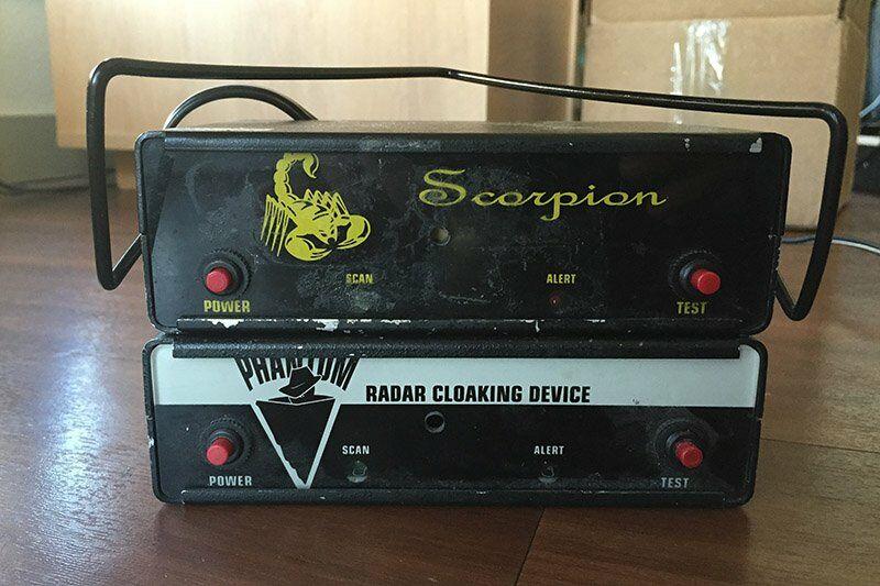 Scorpion és Phantom radarblokkoló