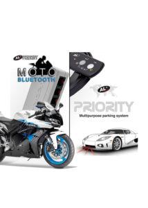 AL PRIORITY | ALP | MOTO BLUETOOTH védelem motorra +CD