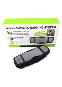 SPY+ GPS detektor, traffipax jelző