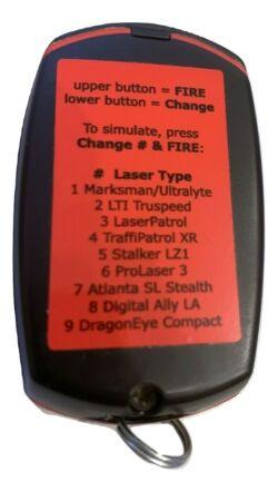 Laser tester több féle lézer emulációval, pl. Truspeed, Prolaser3/Fáma3, DALA és Dragon Exe Compact