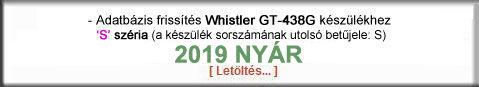 Whistler 438G S