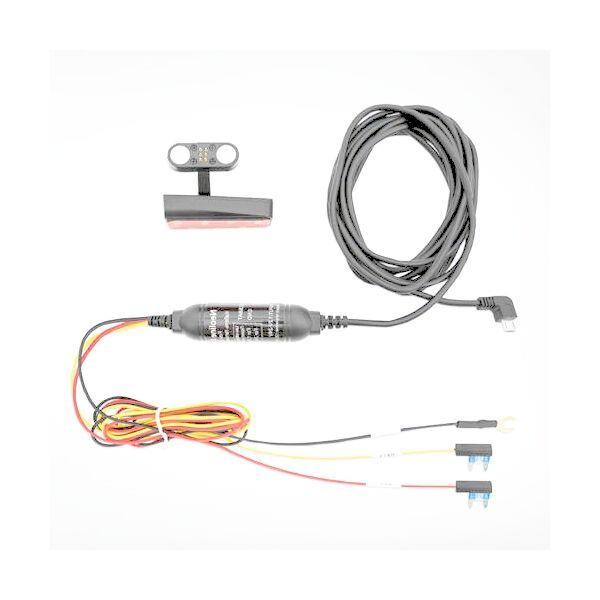 Neoline X74 dashcam tápkábel és konzol