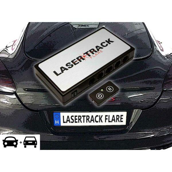 Lasertrack flare rejtett lézerblokkoló