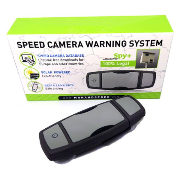 Spy+ GPS antennával felszerelt VÉDA kapu és telepített traffipax jelző