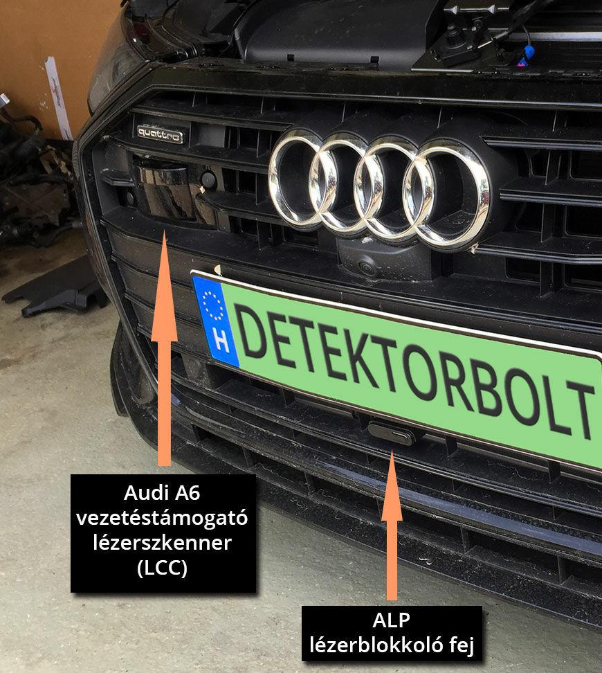 Lézerblokkoló Audiba